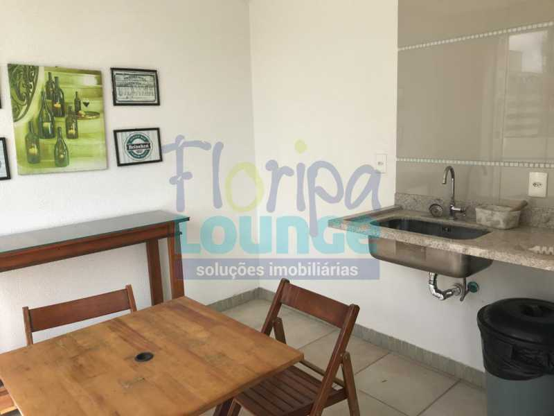 ESPAÇO DE CHURRASQUEIRA - Apartamento À venda no bairro Agronômica em Florianópolis, com 3 dormitórios suítes - AGR3AP 2073 - 20
