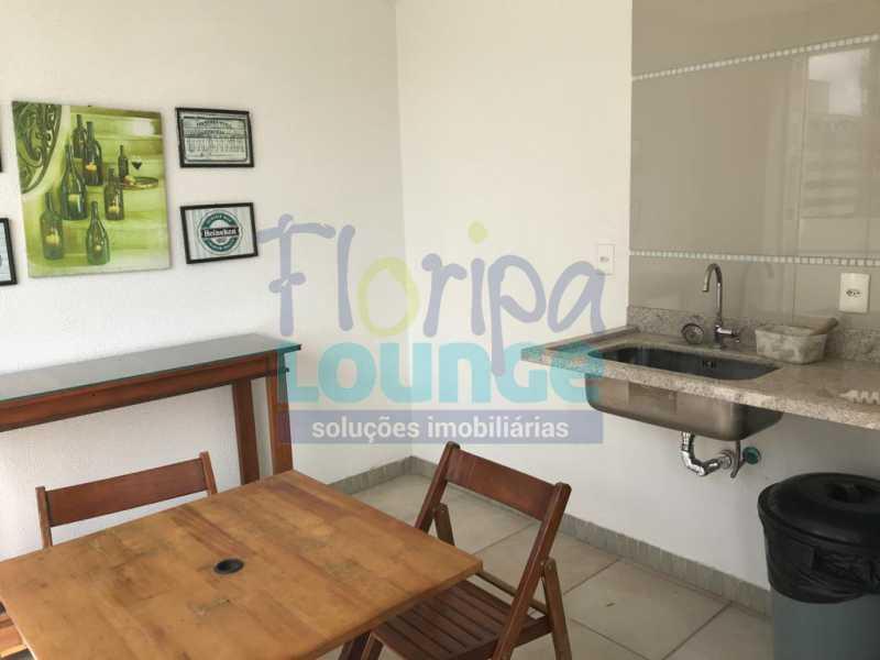 CHURRASQUEIRA - Apartamento À venda no bairro Agronômica em Florianópolis, com 3 dormitórios suítes - AGR3AP 2073 - 22