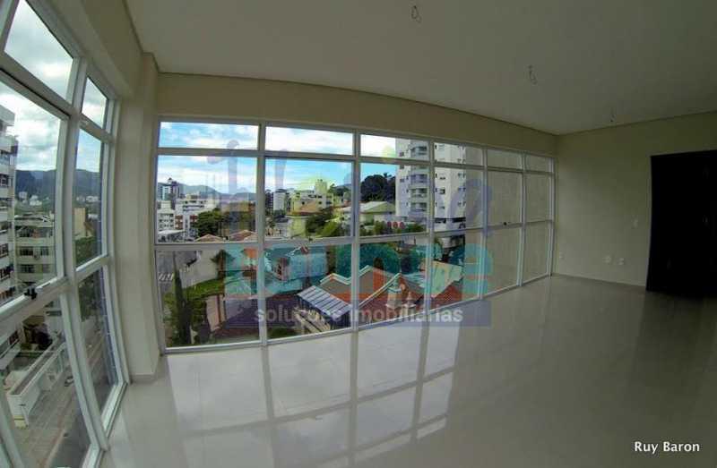 SALA - Apartamento À venda no bairro Agronômica em Florianópolis, com 3 dormitórios suítes - AGR3AP 2073 - 3
