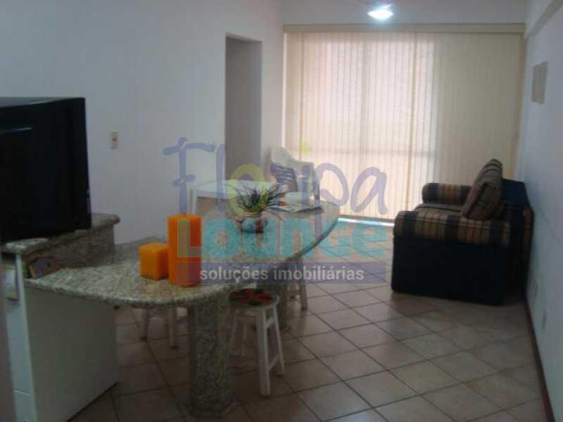 Sala com Cozinha - Apartamento 2 quartos à venda Canasvieiras, Florianópolis - R$ 590.000 - CAN2AP1020 - 3