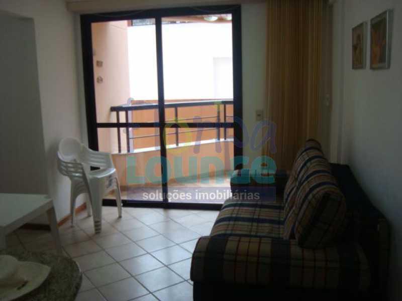 Sala com Varanda - Apartamento 2 quartos à venda Canasvieiras, Florianópolis - R$ 590.000 - CAN2AP1020 - 7