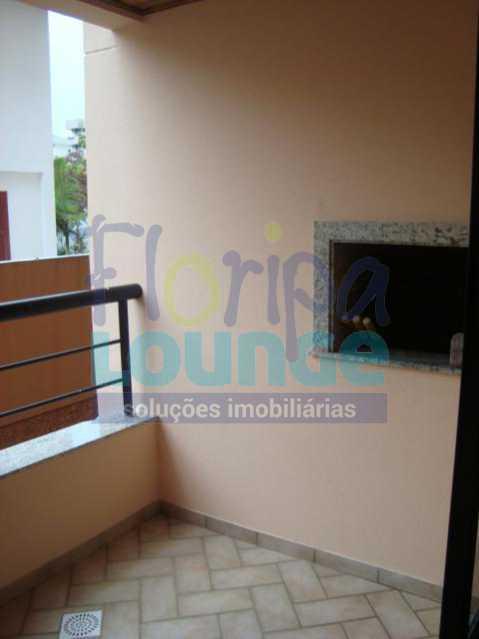 Varanda com Churrasqueira - Apartamento 2 quartos à venda Canasvieiras, Florianópolis - R$ 590.000 - CAN2AP1020 - 8