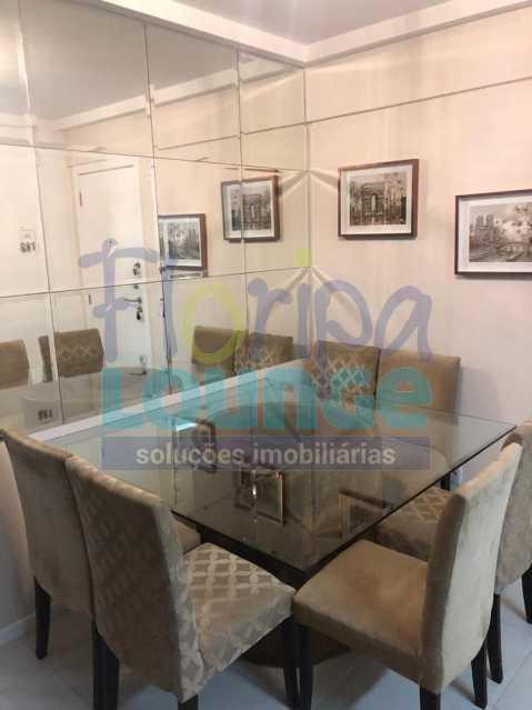 Sala - apartamento no itacorubi com 2 dormitórios - ITA2AP2186 - 5