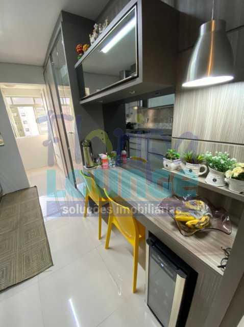 Cozinha - Apartamento no Centro com 3 dormitórios, sendo 2 suítes - CEN3AP2191 - 13