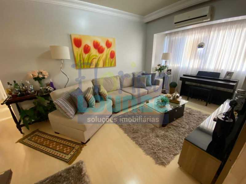 Saal de Estar - Apartamento no Centro com 3 dormitórios, sendo 2 suítes - CEN3AP2191 - 1