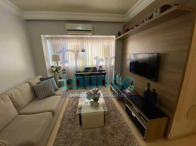 Sala de Estar - Apartamento no Centro com 3 dormitórios, sendo 2 suítes - CEN3AP2191 - 3