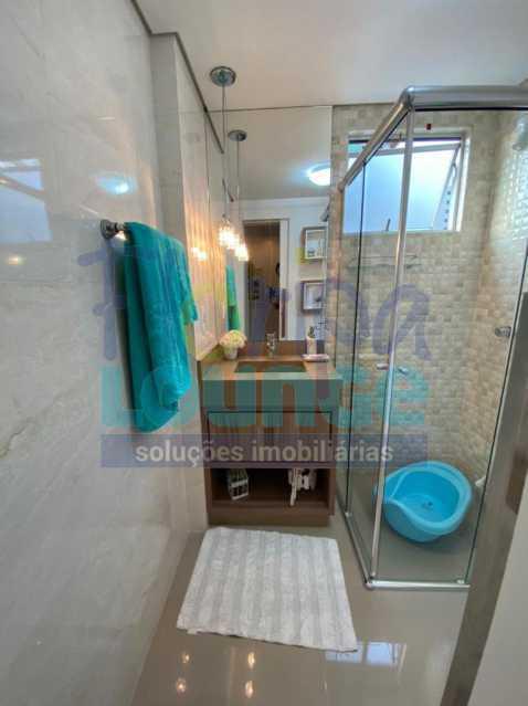 Banheiro da Social - Apartamento no Centro com 3 dormitórios, sendo 2 suítes - CEN3AP2191 - 17