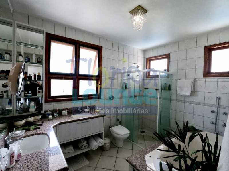 Banheiro da suíte - Mansão no Jurerê Internacional co 5 suítes! - JUR6C2192 - 21