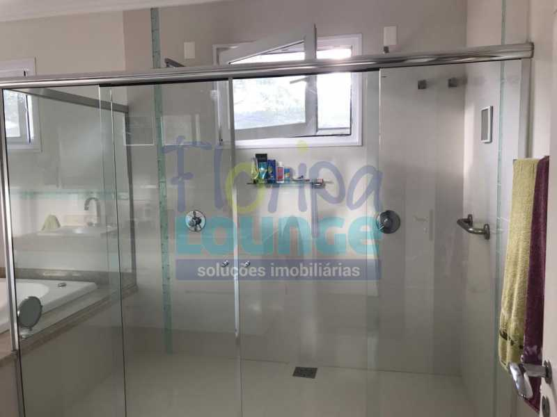 Banheiro da suíte - Casa em condomínio fechado À venda no bairro Saco Grande, com 4 dormitórios. - SG4CC2197 - 21