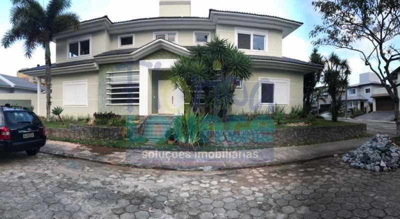 Fachada - Casa em condomínio fechado À venda no bairro Saco Grande, com 4 dormitórios. - SG4CC2197 - 1