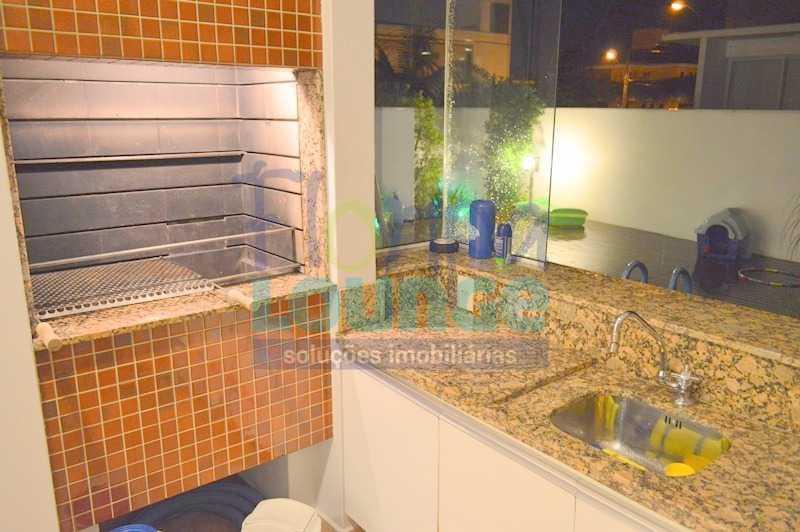 ESPAÇO GOURMET - Casa À venda no Condomínio Village Club, bairro Saco Grande com 3 suítes - SGRCC2207 - 24