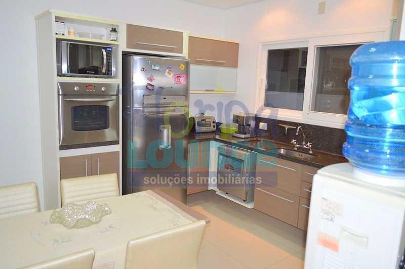 COZINHA - Casa À venda no Condomínio Village Club, bairro Saco Grande com 3 suítes - SGRCC2207 - 11