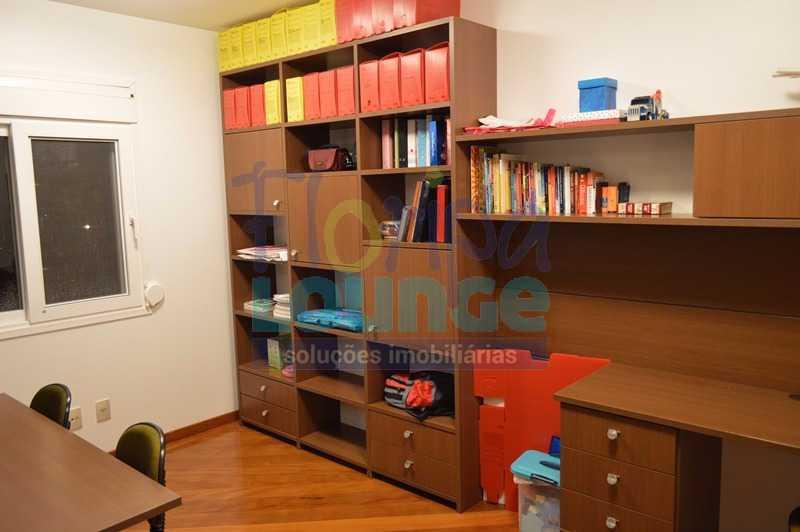 ESCRITÓRIO - Casa À venda no Condomínio Village Club, bairro Saco Grande com 3 suítes - SGRCC2207 - 17