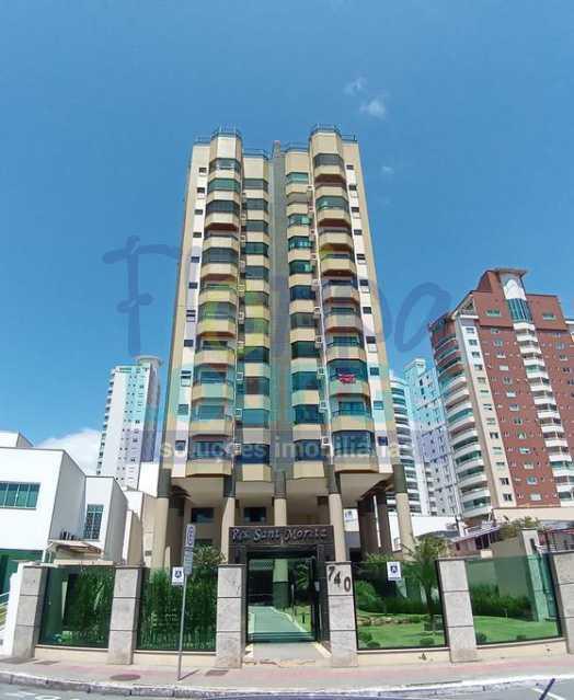 FACHADA - Apartamento no Bairro Fazenda em Itajaí com 3 suítes - ITJ3AP2212 - 3