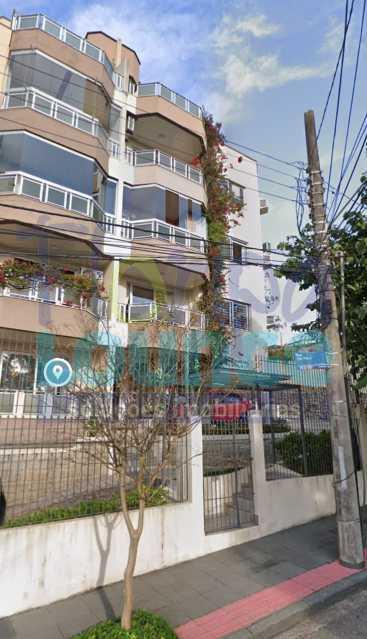 FACHADA - Apartamentoem Coqueiros com 1 dormitório - COQAP2214 - 10