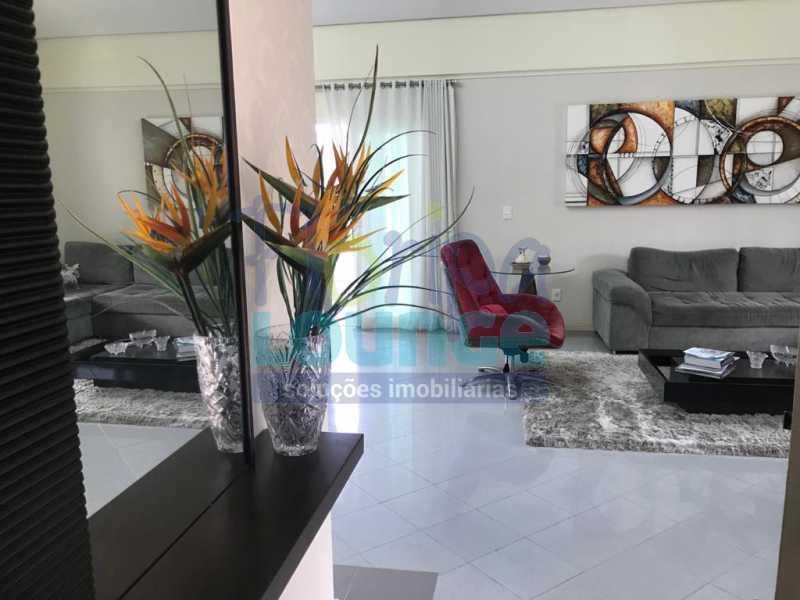 SALA - Casa em condomínio em cacupé com 5 suítes - CACCC2216 - 1