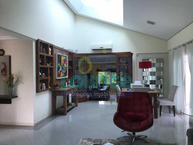 SALA - Casa em condomínio em cacupé com 5 suítes - CACCC2216 - 4