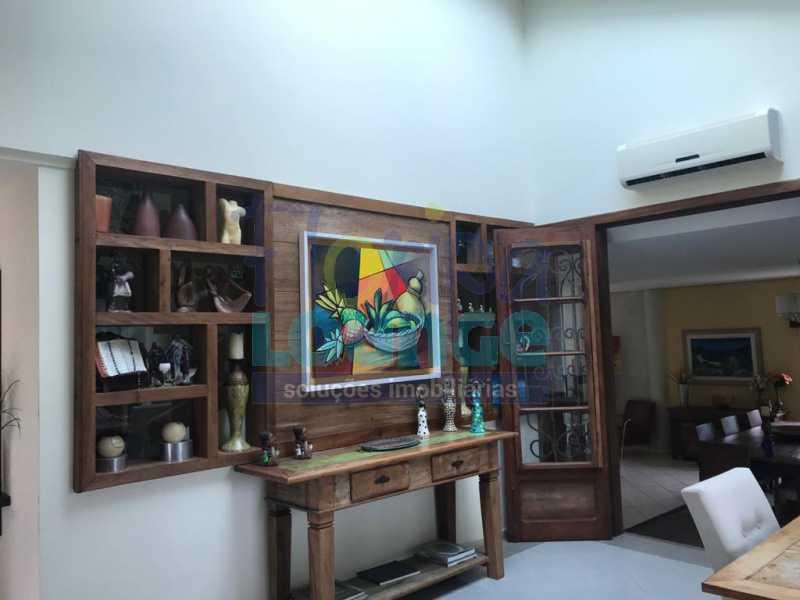 SALA DE JANTAR - Casa em condomínio em cacupé com 5 suítes - CACCC2216 - 6