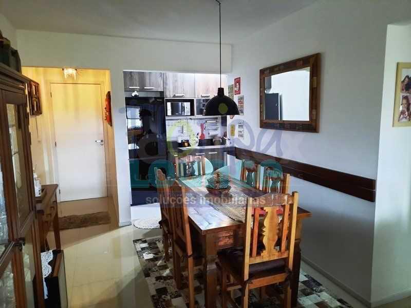 SALA - Excelente apartamento a venda, com 2 quartos, semi mobiliado, no bairro Saco dos Limões. - SDL2AP2199 - 3