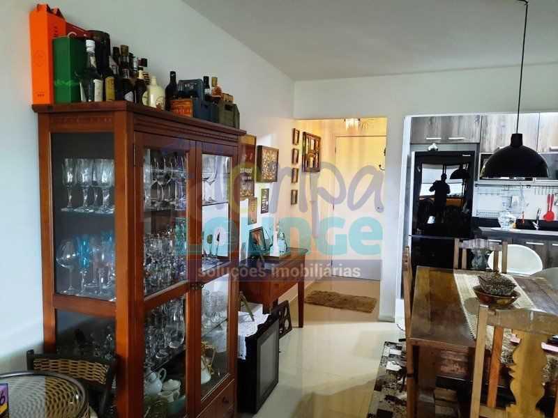 SALA - Excelente apartamento a venda, com 2 quartos, semi mobiliado, no bairro Saco dos Limões. - SDL2AP2199 - 1