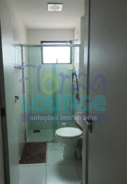 BANHEIRO - Excelente apartamento a venda, com 2 quartos, semi mobiliado, no bairro Saco dos Limões. - SDL2AP2199 - 14