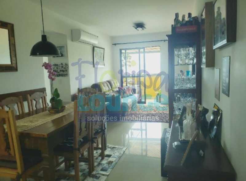 SALA - Excelente apartamento a venda, com 2 quartos, semi mobiliado, no bairro Saco dos Limões. - SDL2AP2199 - 5