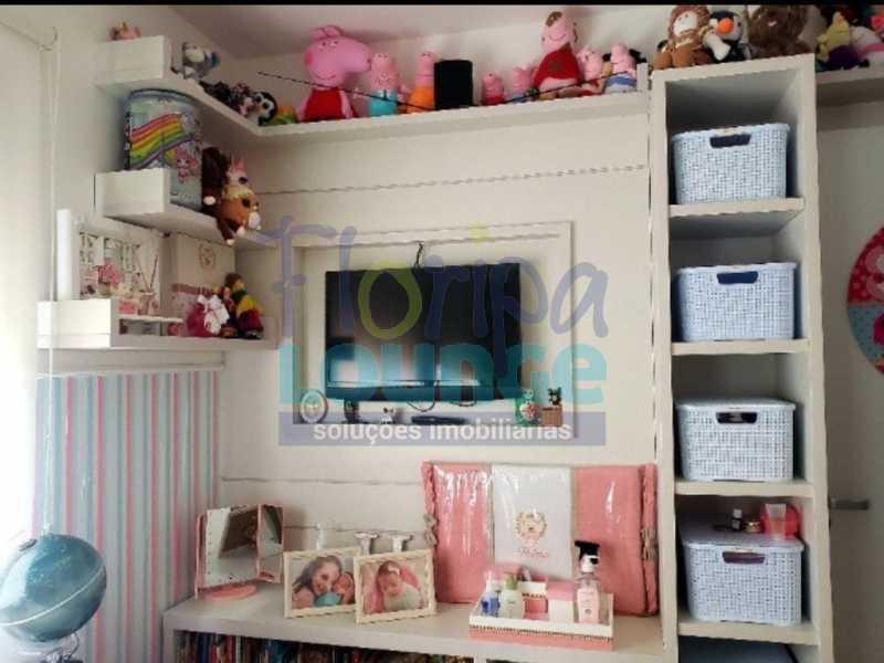 DORMITÓRIO - Excelente apartamento a venda, com 2 quartos, semi mobiliado, no bairro Saco dos Limões. - SDL2AP2199 - 11