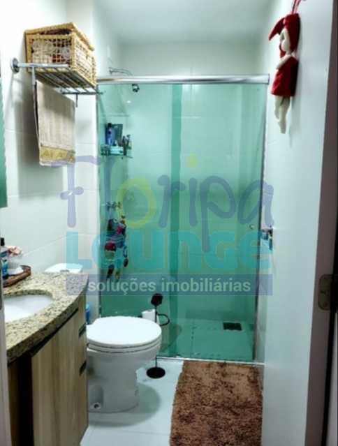 BANHEIRO - Excelente apartamento a venda, com 2 quartos, semi mobiliado, no bairro Saco dos Limões. - SDL2AP2199 - 24