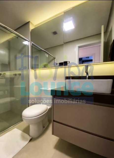 BANHEIRO - Excelente Apto , andar alto com vista panorâmica , com 3 quartos sendo 1 suite e 3 banheiros. - KOB3AP2272 - 11
