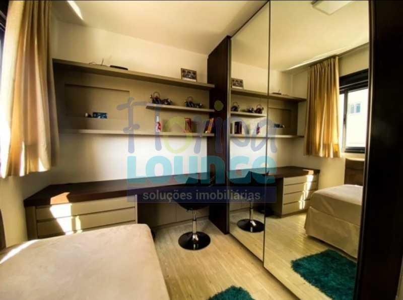 DORMITÓRIO - Excelente Apto , andar alto com vista panorâmica , com 3 quartos sendo 1 suite e 3 banheiros. - KOB3AP2272 - 12