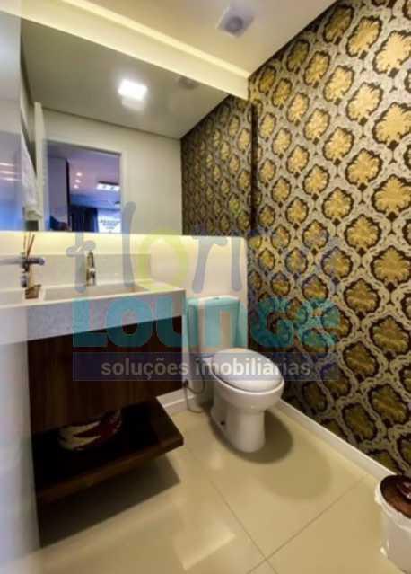BANHEIRO - Excelente Apto , andar alto com vista panorâmica , com 3 quartos sendo 1 suite e 3 banheiros. - KOB3AP2272 - 14