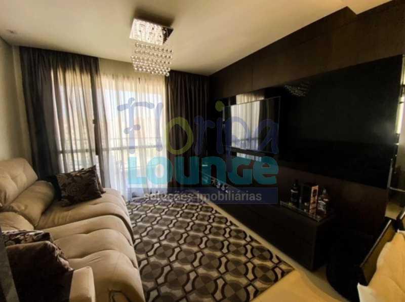 SALA - Excelente Apto , andar alto com vista panorâmica , com 3 quartos sendo 1 suite e 3 banheiros. - KOB3AP2272 - 1