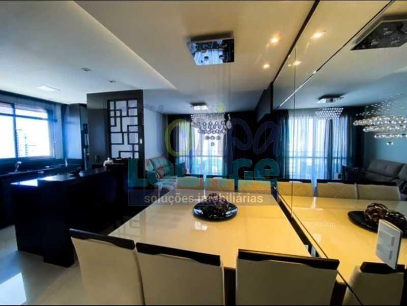 SALA DE JANTAR - Excelente Apto , andar alto com vista panorâmica , com 3 quartos sendo 1 suite e 3 banheiros. - KOB3AP2272 - 16