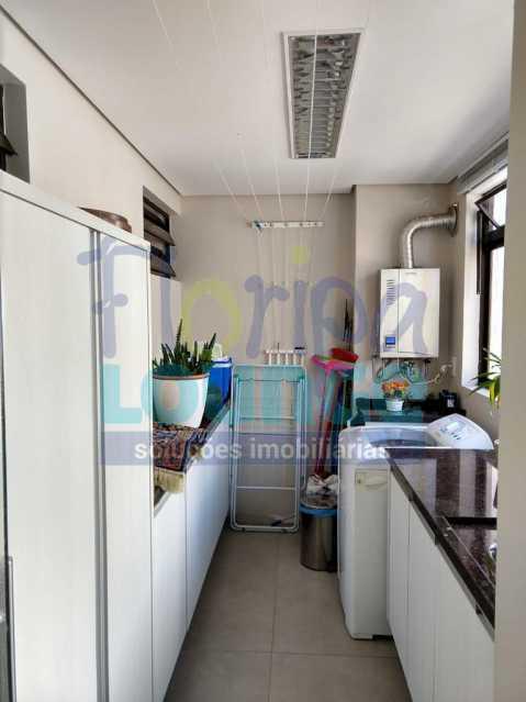 Cozinha Planejada - Apartamento lindo mobiliado na agronômica com 3 dormitórios - AGR3AP2037 - 7