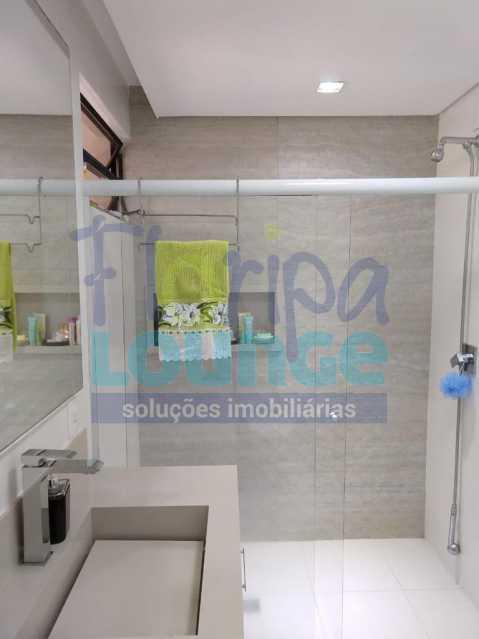 Banheiro social - Apartamento lindo mobiliado na agronômica com 3 dormitórios - AGR3AP2037 - 19