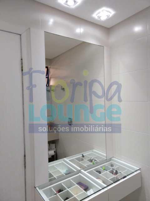 Banheiro da Suíte - Apartamento lindo mobiliado na agronômica com 3 dormitórios - AGR3AP2037 - 18