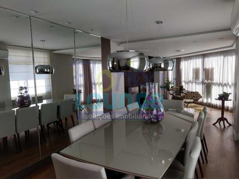 Sala de jantar - Apartamento lindo mobiliado na agronômica com 3 dormitórios - AGR3AP2037 - 5