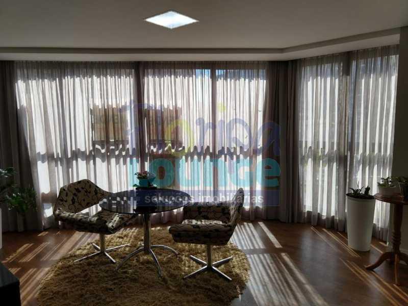 Sala - Apartamento lindo mobiliado na agronômica com 3 dormitórios - AGR3AP2037 - 1