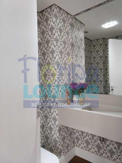 Lavabo - Apartamento lindo mobiliado na agronômica com 3 dormitórios - AGR3AP2037 - 14