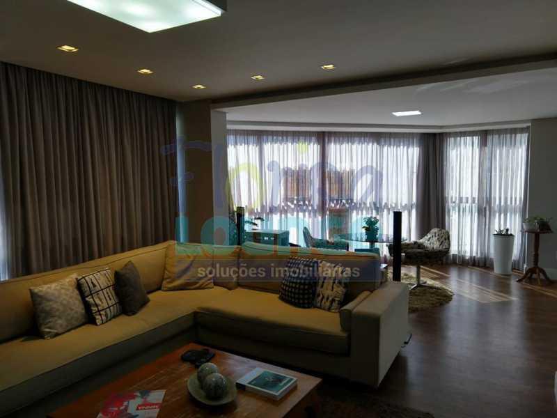 Sala de Estar - Apartamento lindo mobiliado na agronômica com 3 dormitórios - AGR3AP2037 - 4