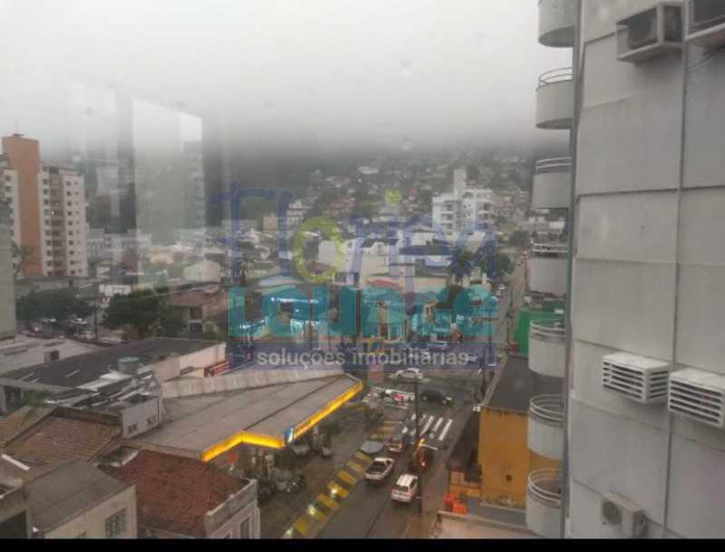 Vista da sala - Sala Comercial no Centro de Florianópolis - CENS2048 - 5