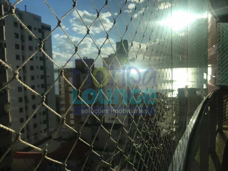 Vista da sacada - 3 SUÍTES AO LADO DO SHOPPING BEIRA MAR - AGR3AP2050 - 5