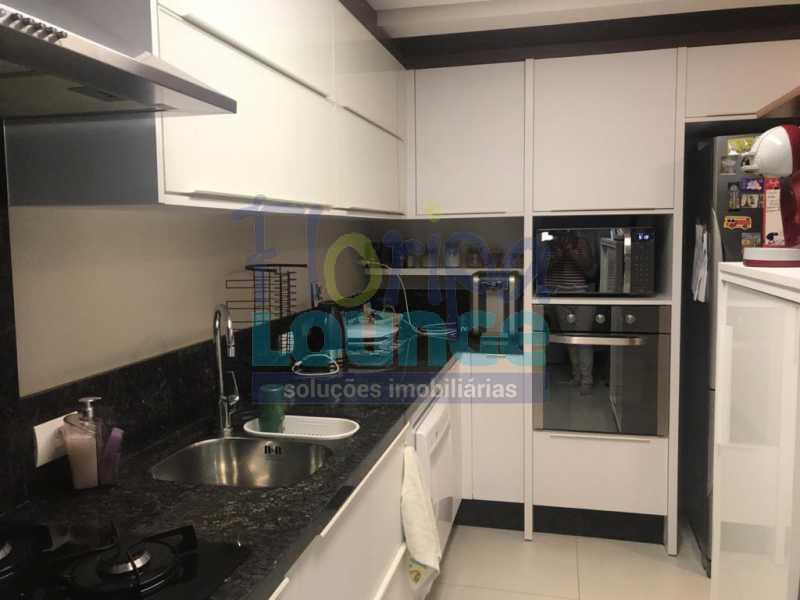 Cozinha - 3 SUÍTES AO LADO DO SHOPPING BEIRA MAR - AGR3AP2050 - 8