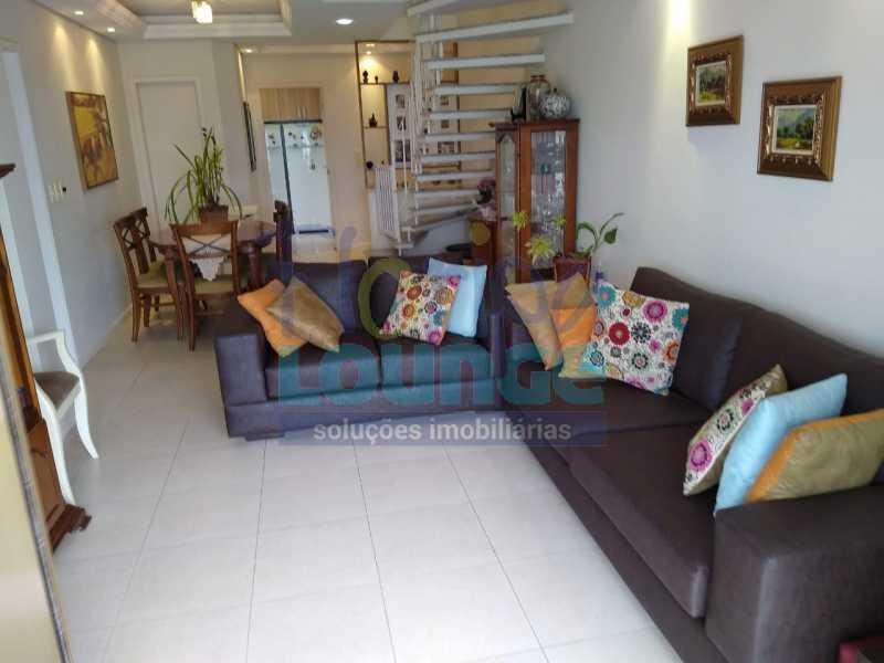 living - Trindade UFSC Cobertura Apartamento - TRI4COB2054 - 23