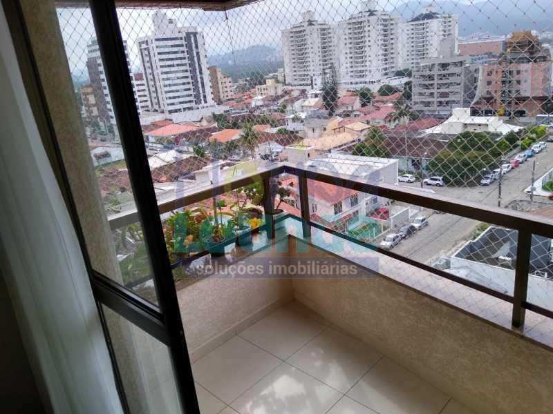 sacada principal - Trindade UFSC Cobertura Apartamento - TRI4COB2054 - 1