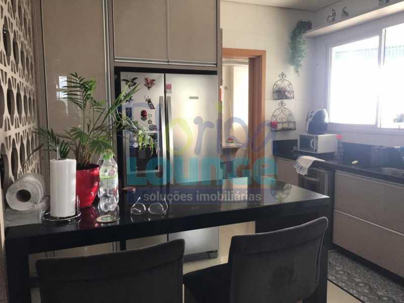 Cozinha integrada - Apartamento com 3 dormitórios,sendo 1 suíte e duas demi-suíte - AGR3AP2060 - 3