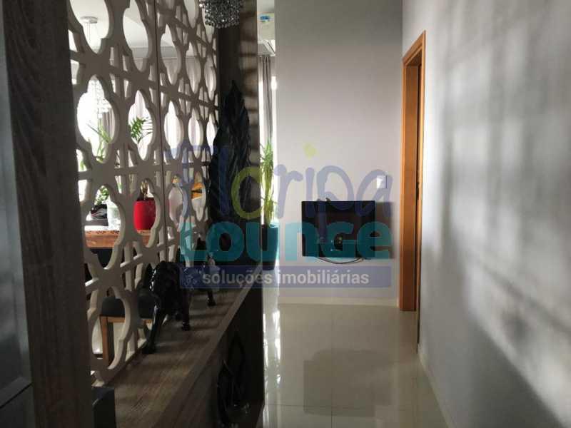 Living - Apartamento com 3 dormitórios,sendo 1 suíte e duas demi-suíte - AGR3AP2060 - 5
