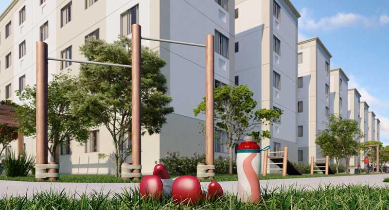 Área fitness - Fachada - Parque Tulipa a partir de 133.000 - 43 - 5