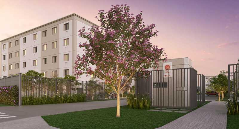 portaria - Fachada - Jardim Hibisco a partir de 126.000 - 44 - 1