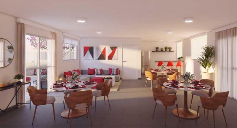salão de festas - Fachada - Jardim Hibisco a partir de 126.000 - 44 - 4
